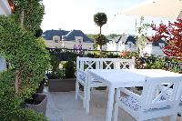 adorable garden terrace of Vienna - Golf Apartment luxury vacation rental and holiday home