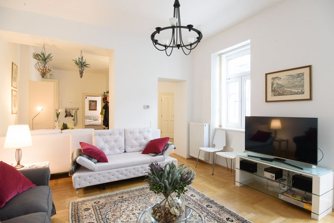 breezy and bright Vienna - 2 Bedroom Patio Apartment luxury holiday home and vacation rental