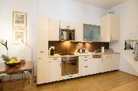 delightful kitchen of Vienna - 2 Bedroom Patio Apartment luxury holiday home and vacation rental