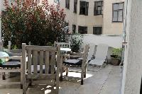 amazing balcony of Vienna - 2 Bedroom Patio Apartment luxury holiday home and vacation rental
