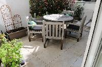 nice patio of Vienna - 2 Bedroom Patio Apartment luxury holiday home and vacation rental