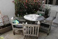 cool patio of Vienna - 2 Bedroom Patio Apartment luxury holiday home and vacation rental