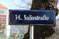 cool street sign near Vienna - 2 Bedroom Patio Apartment luxury holiday home and vacation rental
