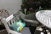 neat patio of Vienna - 2 Bedroom Patio Apartment luxury holiday home and vacation rental