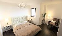 clean and fresh bed sheets in Dubai - 3 Bedroom With Sea Vie luxury apartment
