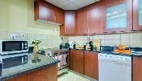 cool kitchen of Dubai - 3 Bedroom With Sea Vie luxury apartment