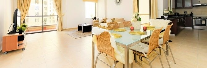 Dubai - Large and Bright 1 Bedroom