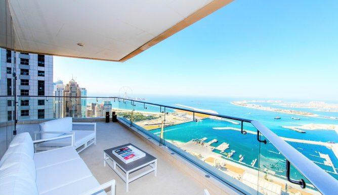 beautiful Dubai - Exceptional 4 Bedroom Penthouse luxury apartment