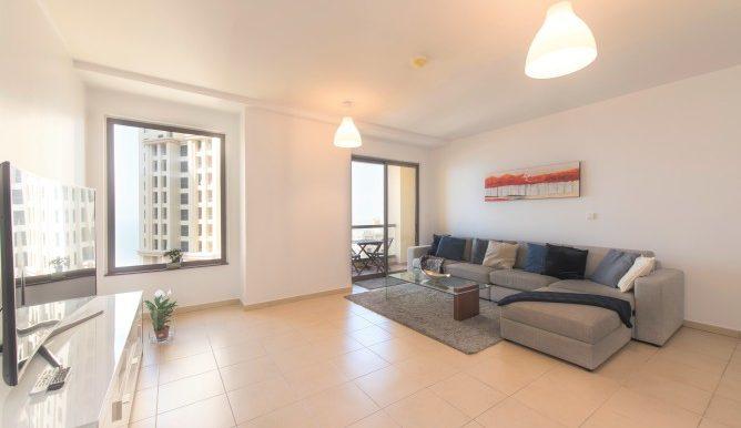 chic Dubai - Spacious 1 Bedroom with Sea View luxury apartment