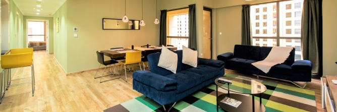 Dubai - Upgraded 3 Bedroom Plus Maid's in Sadaf 5 JBR