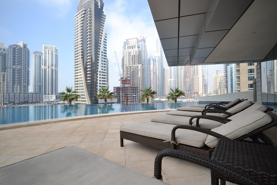 amazing Dubai - Bright And Spacious 1 Bedroom in Trident Bayside luxury apartment