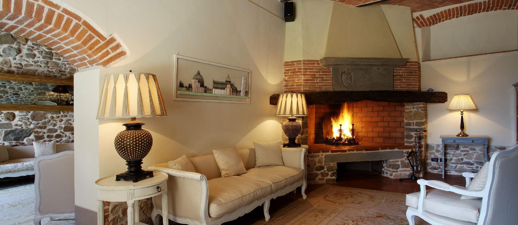 delightful living room of Tuscany - The Tuscan Mansion luxury apartment