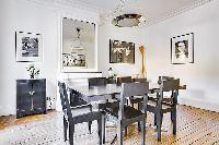delightful dining room of République - Voltaire luxury apartment