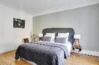 awesome bedroom of République - Voltaire luxury apartment