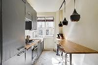 cool pendant lamps in République - Voltaire luxury apartment
