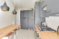 nice breakfast nook in République - Voltaire luxury apartment