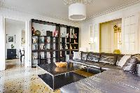 awesome sitting room of République - Voltaire luxury apartment