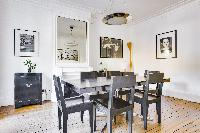 cool dining chairs in République - Voltaire luxury apartment