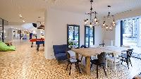 delgihtful dining area in Vienna - Studio with Balcony luxury apartment