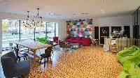 delightful living room in Vienna - Studio with Balcony luxury apartment