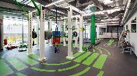 cool fitness room near Vienna - Studio with Balcony luxury apartment
