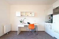 nice interiors of Vienna - Studio with Balcony luxury apartment