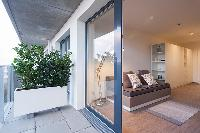 cool access to the terrace of Vienna - Studio with Balcony luxury apartment