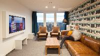 beautiful view from Vienna - Studio with Balcony luxury apartment