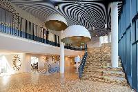 amazing interiors of Vienna - Studio with Balcony luxury apartment