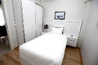 fresh and clean bedroom linens in Istanbul - Rubellite 2BR luxury apartment and vacation rental