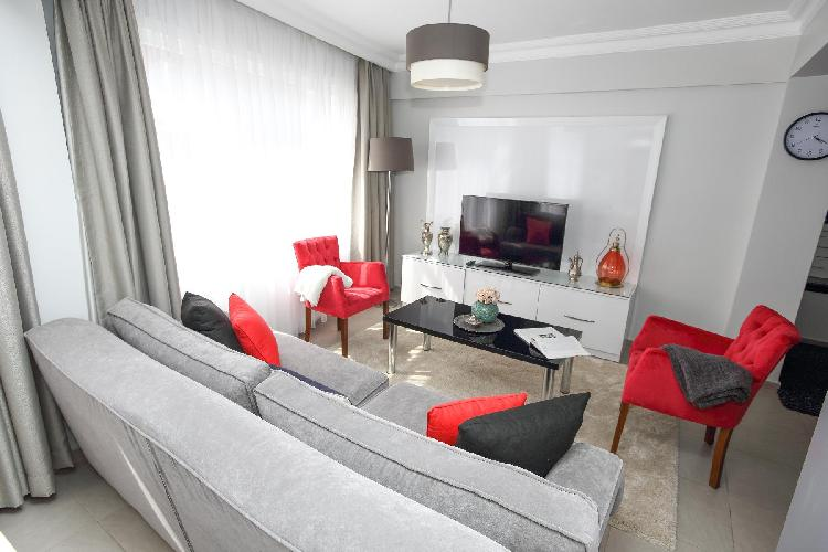 nice Istanbul - Rubellite 2BR luxury apartment and vacation rental