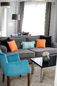 charming Istanbul - Blue Zircon 1BR luxury apartment and holiday home
