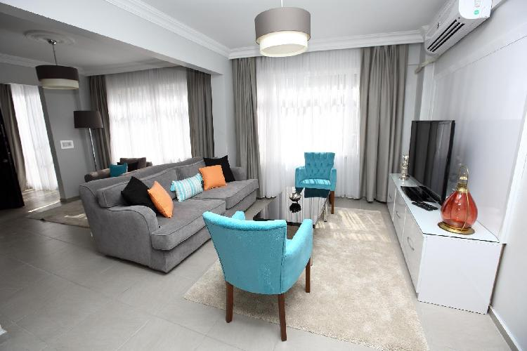 chic Istanbul - Blue Zircon 1BR luxury apartment and holiday home