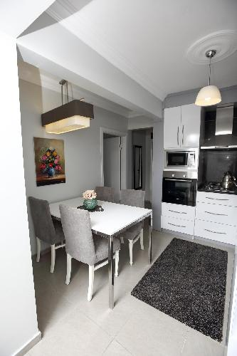 fully furnished Istanbul - Pink Sapphire 2BR luxury apartment and vacation rental