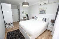 clean and fresh bedroom linens in Istanbul - Orange Citrine 2BR luxury apartment and vacation rental