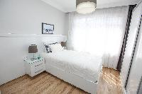 fresh and clean bedroom linens in Istanbul - Orange Citrine 2BR luxury apartment and vacation rental
