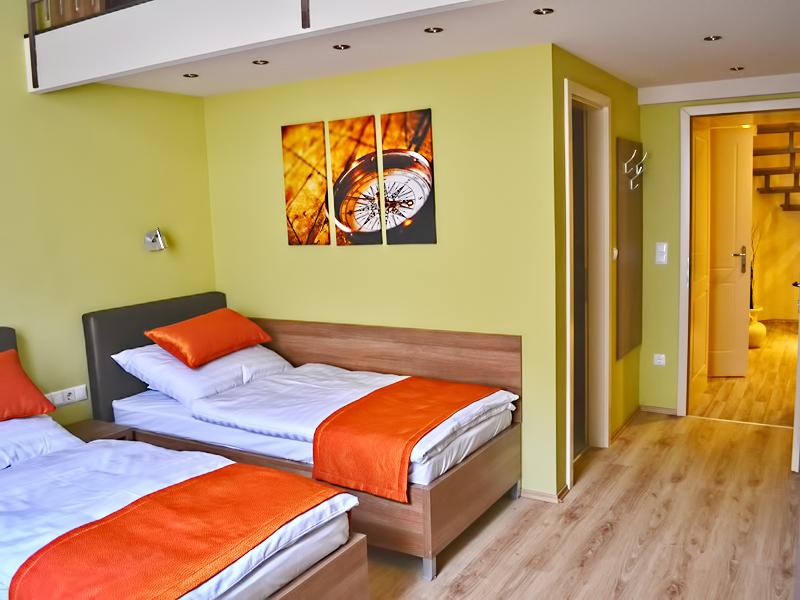 pristine bed sheets and pillows in Budapest - Jasmin Premium Apartment luxury holiday home