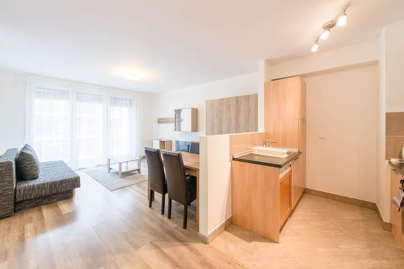 breezy and bright Budapest - Studio Apartment Mango luxury vacation rental