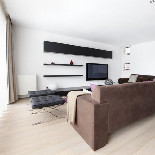 amazing living room of Amsterdam - Jimmy Apartment luxury apartment