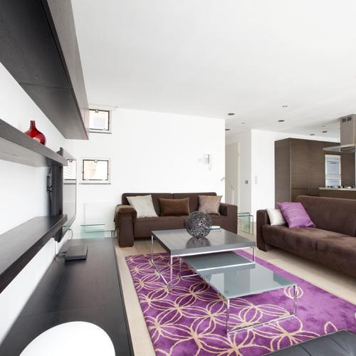 awesome living room of Amsterdam - Jimmy Apartment luxury apartment