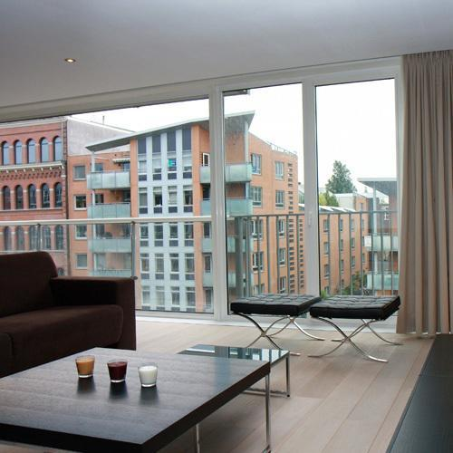 cool terrace of Amsterdam - Jimmy Apartment luxury apartment