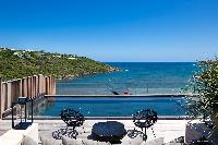 amazing sea view from Saint Barth Villa Blackstone luxury holiday home, vacation rental