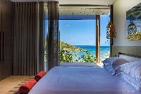clean bed sheets in Saint Barth Villa Blackstone luxury holiday home, vacation rental