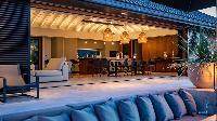 beautiful lanai of Saint Barth Villa Blackstone luxury holiday home, vacation rental