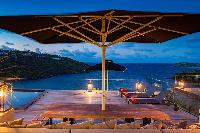 awesome sea view from Saint Barth Villa Blackstone luxury holiday home, vacation rental