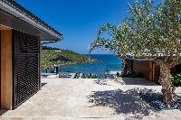 awesome seafront Saint Barth Villa Blackstone luxury holiday home, vacation rental