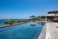 fun swimming pool of Saint Barth Villa Blackstone luxury holiday home, vacation rental