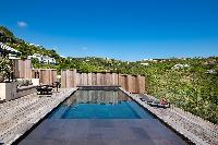 fabulous pool of Saint Barth Villa Blackstone luxury holiday home, vacation rental