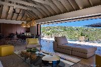 airy and sunny Saint Barth Villa Blackstone luxury holiday home, vacation rental