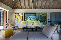 sunny and airy Saint Barth Villa Blackstone luxury holiday home, vacation rental